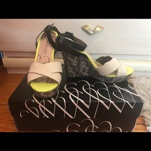 Sam & Libby Strappy Wedges